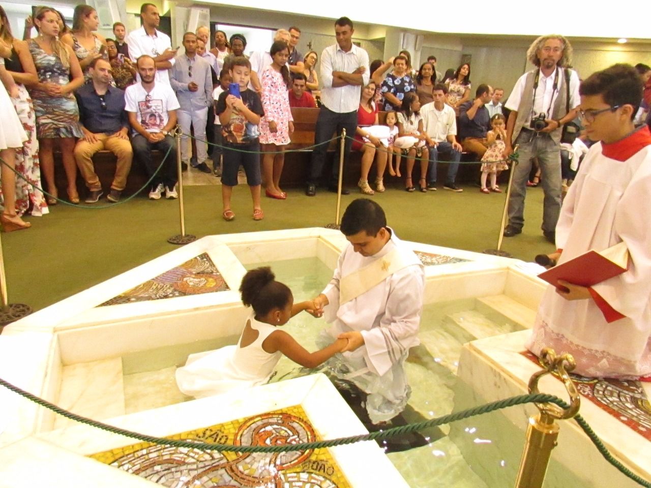 Orientações para o Batismo – Criançasaté 06 anos de idade